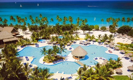 3-, 4-, 5-, 6-, or 7-Night All-Inclusive Dominican Stay with Airfare. Price/Person Based on Double Occ. Tax/Fees Incl.