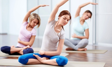 One or Three Months of Unlimited Yoga Classes, or 10 Yoga Classes at Shefayoga (Up to 70% Off)