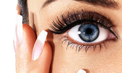 image for Eyebrow Wax and Tint, Semi-Permanent Eyelash Extensions or Both at Beau Boutique