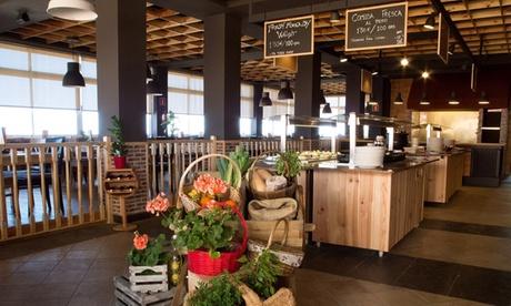 Paga 3 € por un descuento del 50% en el bufé al peso Papi's Grill