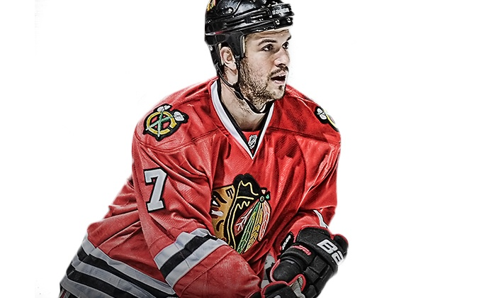 Sideline Marketing - Sideline Marketing: Meet & Greet w/Autograph or Photo-Op with Blackhawks Brent Seabrook from Sideline Marketing (Up to 31% Off)
