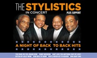 The Stylistics and Support Live on 20 November in Nottingham and on 22 November in Norwich