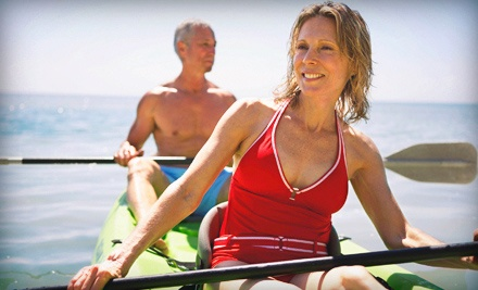 Half- or Full-Day Rental of a Single or Tandem Kayak from Windsong Charters (Up to 57% Off)