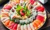 54o 108 pezzi di sushi d'asporto