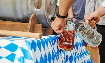 Beer-Garden Outing for Two or Four at Humboldt Park Beer Garden (Up to 50% Off)