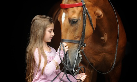 6-Week Class Package of Tiny Tot or Mommy & Me Horse Riding Lessons at Kierson Farm (Up to 63% Off)