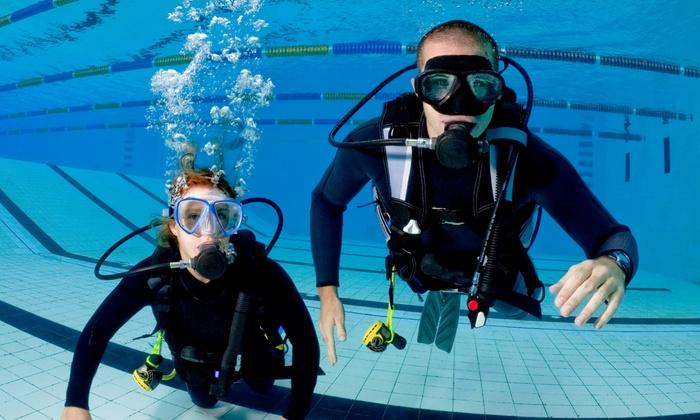 Aquarius Scuba Diving Centre - Toronto: Discover Scuba Diving Course for One or Two at Aquarius Scuba Diving Centre (Up to 66% Off)