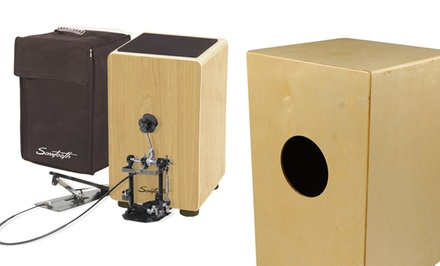 Sawtooth Ash Wood and Maple Cajon Set with Carry Bag, Seat Pad, and Optional Pedal from $99.99–$189.99. Free Returns.