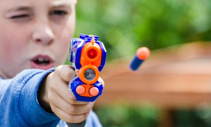 Dart Warz - Wichita: One-Hour of Dart Shooting for Two or Four or a Birthday Party Package for Eleven at Dart Warz (Up to 45% Off)