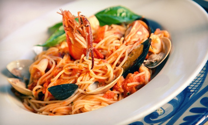 Ristorante Da Mario - Saratoga: Italian Dinner with Appetizer and Wine for Two or $30 for $60 Worth of Italian Cuisine at Ristorante Da Mario
