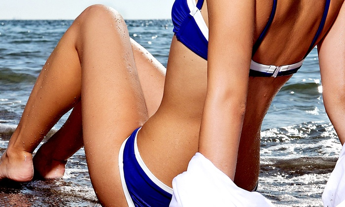 Bombshell Waxing - Multiple Locations: Two Airbrush Tans at Bombshell Waxing (Up to 56% Off)
