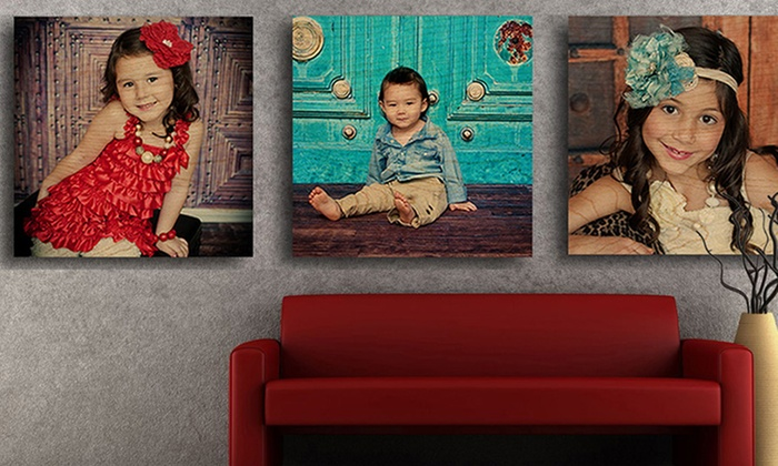 Personalized Wood Photoboard: Personalized Photoboard Print on Wood from Picture Bungalow. Multiple Sizes Available from $19.99–$39.99. Free Shipping.