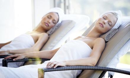 Massaggio da 50 minuti, ceretta e manicure