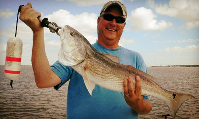 Charleston Fish Rod Bending Company - Charleston: $199 for a Four-Hour Charter Fishing Trip for Three from Charleston Fish Rod Bending Company ($400 Value)