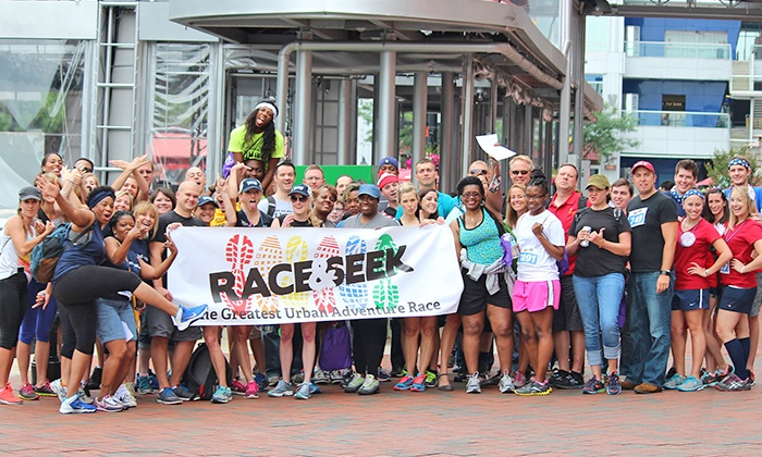 Race & Seek - McCarthy's Downtown: One Entry to Urban Scavenger Race from Race & Seek (Up to 53% Off)