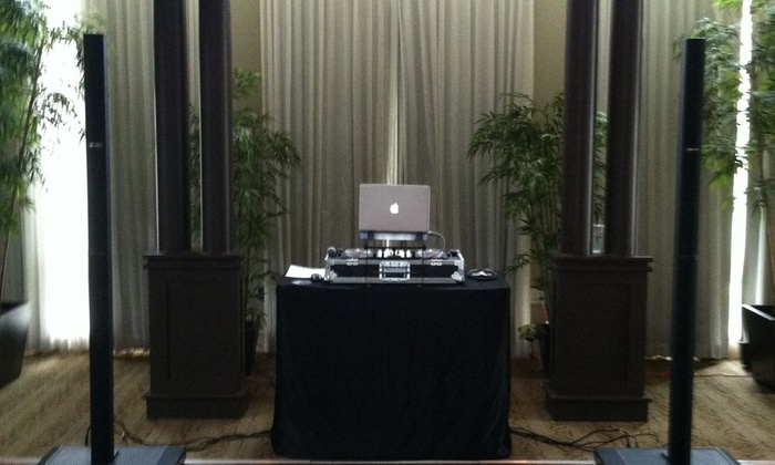 Innovative Audio Djs - Tampa Bay Area: Four Hours of DJ Services from Innovative Audio DJs (52% Off)