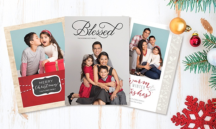 Target Portrait Studio - Grand Rapids: Professional Photo Session with 24, 36, or 60 Holiday Photo Cards at Target Portrait Studio (Up to 81% Off)