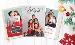 Target Portrait Studio: Professional Photo Session with 24, 36, or 60 Holiday Photo Cards at Target Portrait Studio (Up to 81% Off)
