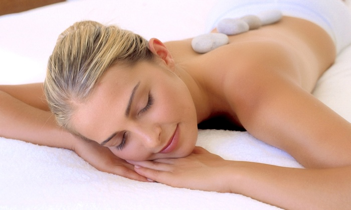 Salon De Percée - The Parks At Arlington: 60-Minute Hot-Stone Massage, or a 90-Minute Swedish or Therapeutic Massage at Salon De Percée (50% Off)