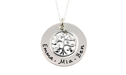 Custom Tree of Life Pendant in Sterling Silver by ByHannahDesign