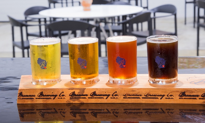 Brenner Brewing Co. - Walker's Point: Craft Brewery Tour for Two, Four, or Six at Brenner Brewing Co. (40% Off)