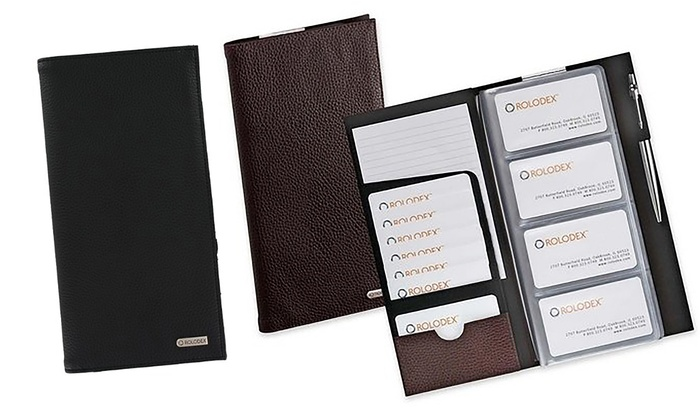 Rolodex Business Card Book Groupon Goods