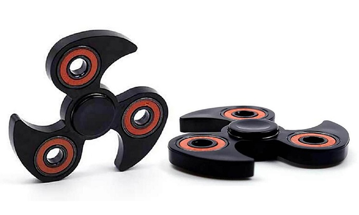 Turbo Spin Fidget Spinner with Ceramic Bearing | Groupon