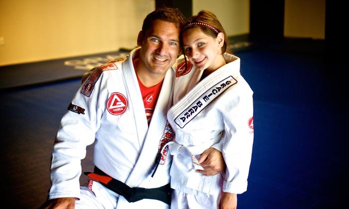 Gracie Barra Brazilian Jiu Jitsu - Downtown West Palm Beach: Two Months of Unlimited Brazilian Jiu Jitsu Classes for One or Two at Gracie Barra Brazilian Jiu Jitsu (89% Off)