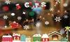 Window Sticker Christmas Decoration