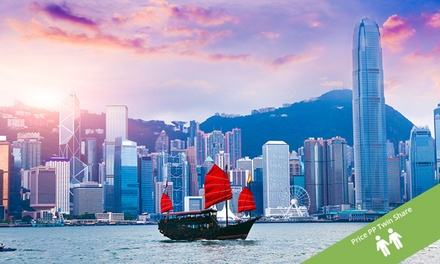 Hong Kong: Per Person for a ThreeNight Stay at a Four or Five Star Hotel with a Choice of Tours