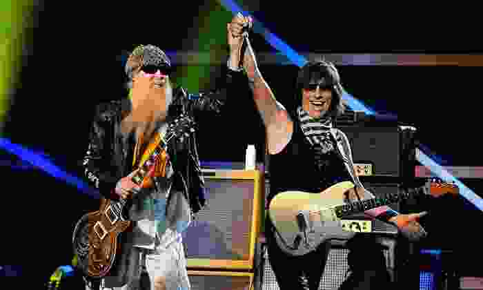 ZZ Top and Jeff Beck - DTE Energy Music Theatre: ZZ Top and Jeff Beck at DTE Energy Music Theatre on August 27 at 7 p.m. (Up to 58% Off)