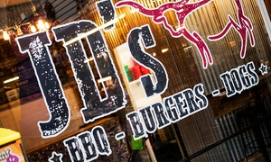 JD's BBQ Shack: Burger and Fries For Two or Four at JD's BBQ Shack (50% Off)