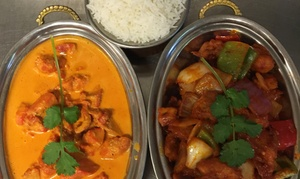 Himalaya House: Indian and Tibetan Cuisine at Himalaya House (Up to 46% Off). Three Options Available.