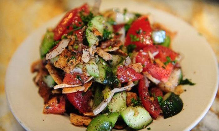 Poco Piatti - Perrysburg: Mediterranean Food for Lunch or Dinner at Poco Piatti (Half Off)