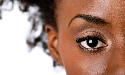 Eyebrow Threading or Full-Face Threading at AIB Salon (Up to 40% Off)
