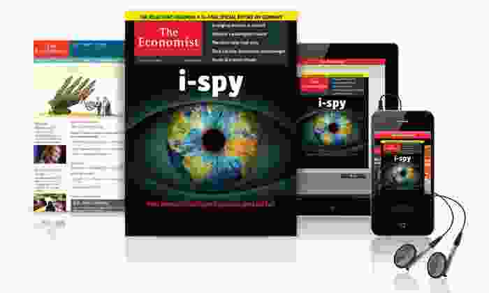 """""""The Economist"""": 51-Week Digital, Print, or Digital and Print Subscription to _The Economist_ (53% Off)"""