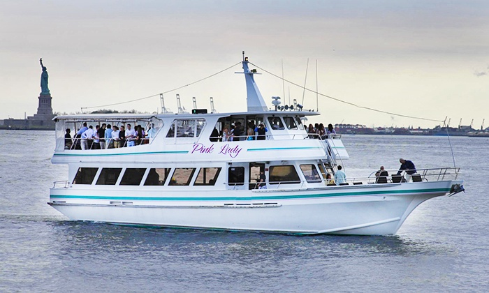 Freedom Cruises - Sheepshead Bay: Three-Hour New York Harbor Tour with Drinks for One or Two from Freedom Cruises (Up to 50% Off)