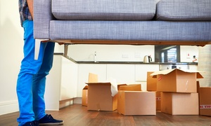 XPRESS RELOCATIONS LLC: Two or Four Hours of Moving Services with Two Movers and One Truck from Xpress Relocations LLC (Up to 55% Off)