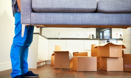 Two, Four, or Six Hours of Moving Service with Two Movers from AAA Moving (Up to 54% Off)