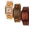 Earth Arapaho Men's Wood Bracelet Watch