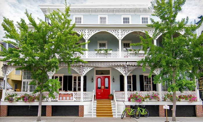 The Virginia Hotel - Cape May, NJ: One-Night Stay with Food and Drink Credit at The Virginia Hotel in Cape May, NJ