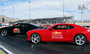 Pure Speed Drag Racing Experience: Dragster or Camaro Experiences from Pure Speed Drag Racing Experience (Up to 50% Off). Five Options Available.