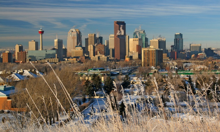 Service Plus Inn and Suites - Calgary, AB: 1-Night Stay for Up to Four with Optional Family or Shopping Package at Service Plus Inn and Suites in Calgary, AB