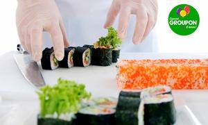 Escola de Gastronomia Rio de Janeiro: #NiverGroupon – Escola de Gastronomia Rio de Janeiro – Centro: workshop de culinária japonesa para 1, 2 ou 3 pessoas