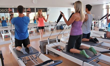 5 or 10 Pilates, Barre or Cycling Classes at The PushHouse (Up to 83% Off)