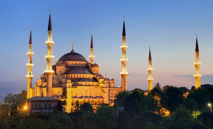 Groupon Deal: ✈ 13-Day Tour of Turkey with Airfare and Sightseeing Tours from Gate 1 Travel. Price/Person Based on Double Occupancy.