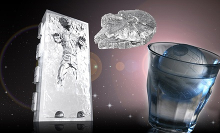 Star Wars Jell-O, Ice, Baking, Chocolate, and Creative Mold Trays for Baking or Fun