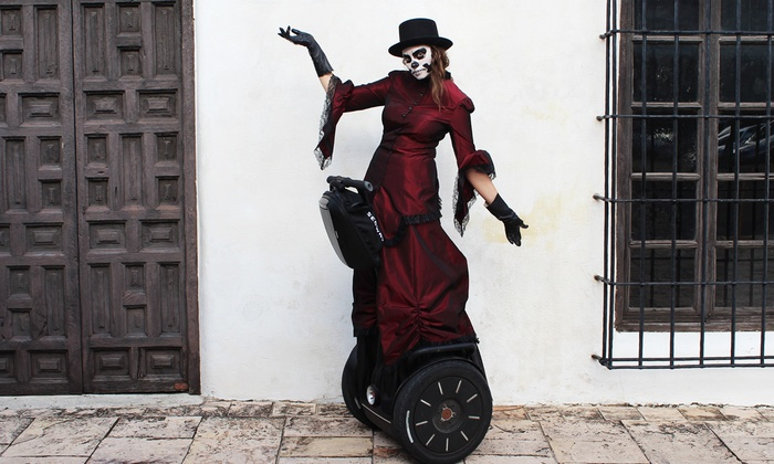 SegCity Austin  - Multiple Locations: Haunted Legends Segway Tour for One, Two, or Four from SegCity Austin  (Up to 50% Off)