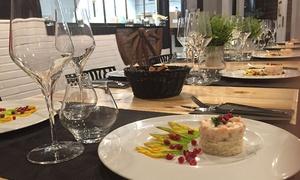 Fish Factory: Menu mediterraneo di carne con primi piatti romani e calice di Nero d'Avola da Fish Factory (sconto fino a 76%)