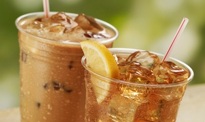 Berlins: $9 for Three Vouchers Each Good for $5 Worth of Boba, Flavored Iced Tea, and Smoothies at Berlins ($15 Value)